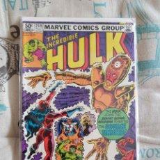 Cómics: INCREDIBLE HULK 259 (MANTLO, S. BUSCEMA, MARVEL, 1981, EN INGLÉS). Lote 156919366
