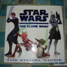 Cómics: STAR WARS: THE CLONE WARS, THE VISUAL GUIDE, 2008, DORTING KINDERSLEY LIMITED, MUY BUEN ESTADO. Lote 156957586