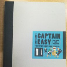 Cómics: CAPTAIN EASY THE COMPLETE SUNDAY NEWSPAPER STRIPS #1 1933 -1935. Lote 157371434