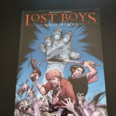 Cómics: LOST BOYS REIGN OF FROGS TPB. Lote 157797586