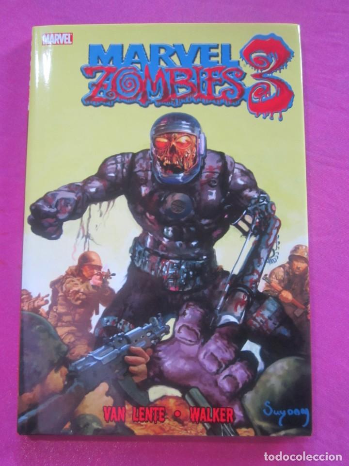 ZOMBIES 3 TOMO DE TAPA DURA CON SOBRECUBIERTA MARVEL EN INGLES (Tebeos y Comics - Comics Lengua Extranjera - Comics USA)