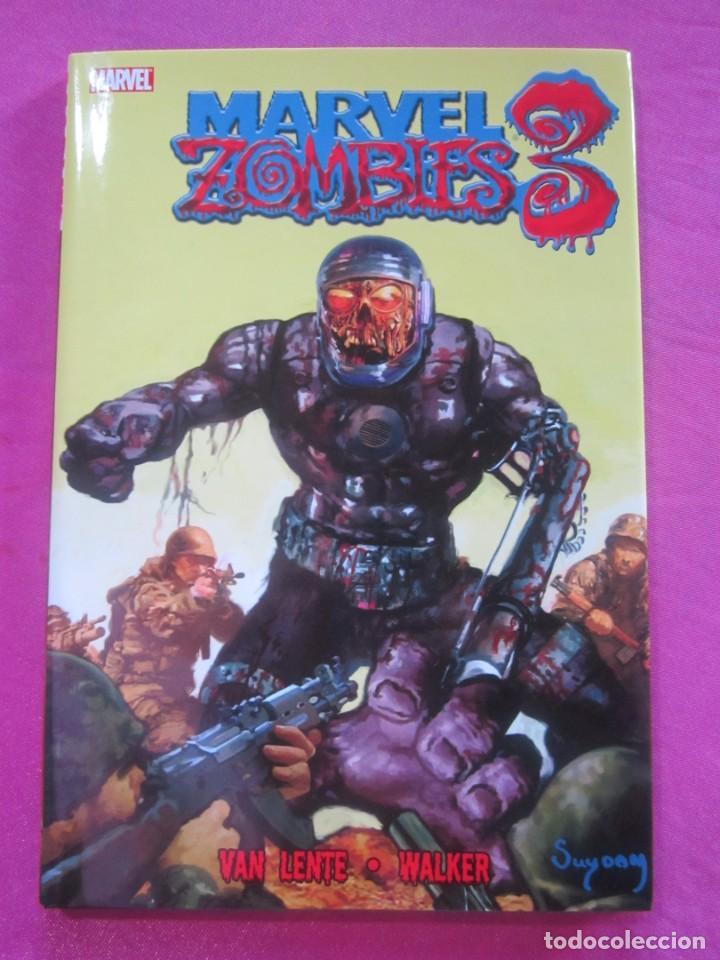 Cómics: ZOMBIES 3 TOMO DE TAPA DURA CON SOBRECUBIERTA MARVEL EN INGLES - Foto 2 - 157848506