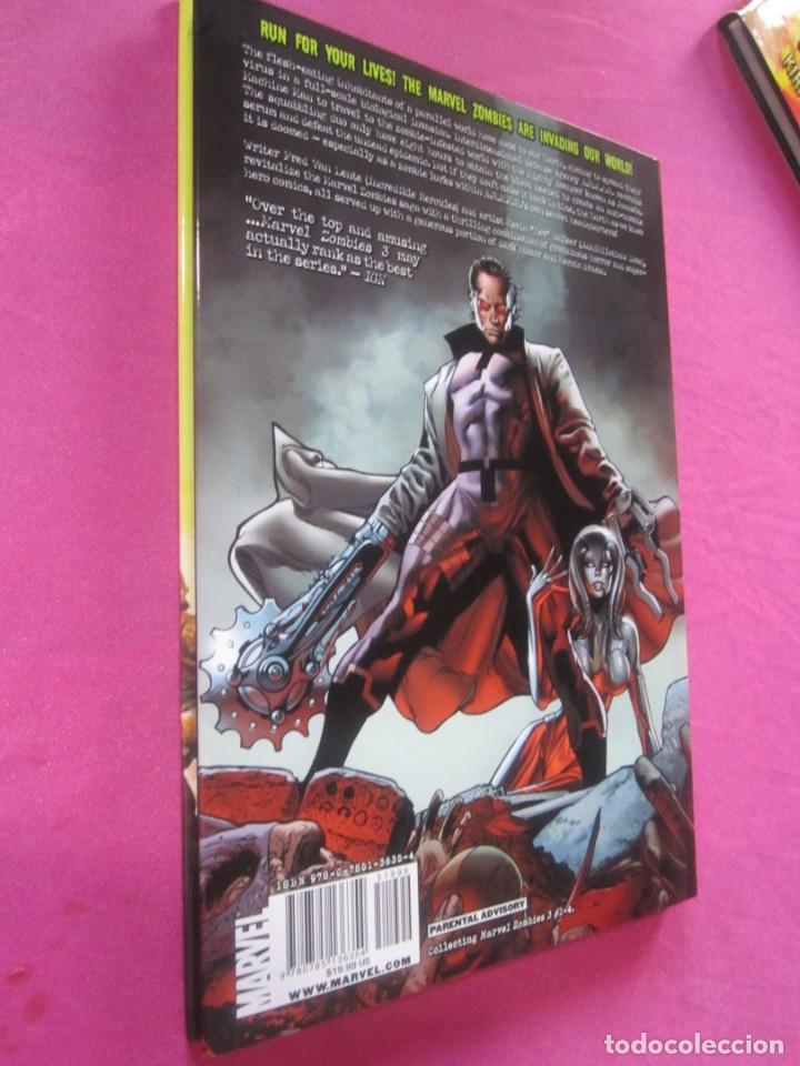 Cómics: ZOMBIES 3 TOMO DE TAPA DURA CON SOBRECUBIERTA MARVEL EN INGLES - Foto 3 - 157848506