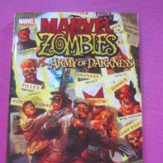 Cómics: ZOMBIES VS ARMY OF DARKNESS TOMO DE TAPA DURA SOBRECUBIERTA EN INGLES. Lote 157849382