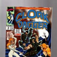 Cómics: CLOAK AND DAGGER 10 - MARVEL 1990 VFN/NM / X-FORCE . Lote 158025730