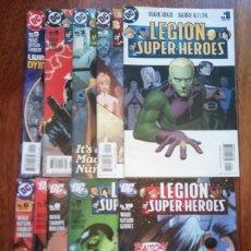 Cómics: LEGION OF SUPER-HEROES 1 AL 10 MARK WAID Y BARRY KITSON. Lote 158206602