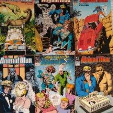 Cómics: ANIMAL MAN PACK 27 AL 32, DC COMICS. Lote 158276220