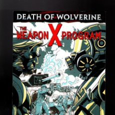 Cómics: DEATH OF WOLVERINE THE WEAPON X PROGRAM 2 - MARVEL 2014 VFN/NM. Lote 158376010