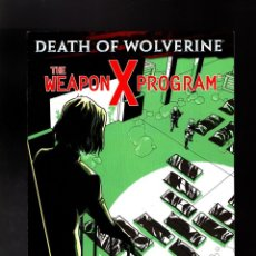 Cómics: DEATH OF WOLVERINE THE WEAPON X PROGRAM 4 - MARVEL 2014 VFN/NM. Lote 158376134