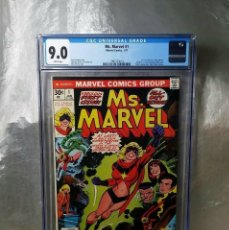 Cómics: MS MARVEL 1 CGC 9.0 WHITE PAGES. COMIC USA MARVEL. Lote 158873866