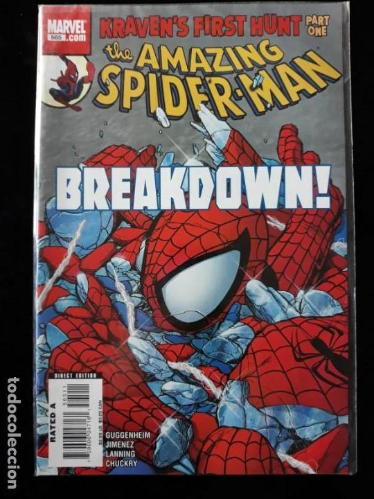 COMIC MARVEL USA: THE AMAZING SPIDERMAN Nº 565 (Tebeos y Comics - Comics Lengua Extranjera - Comics USA)