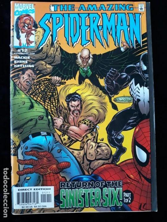 COMIC MARVEL USA: THE AMAZING SPIDERMAN Nº12 (Tebeos y Comics - Comics Lengua Extranjera - Comics USA)