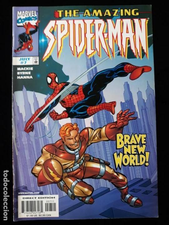COMIC MARVEL USA: THE AMAZING SPIDERMAN Nº7 (Tebeos y Comics - Comics Lengua Extranjera - Comics USA)