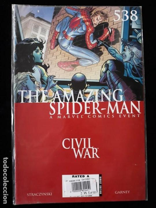 COMIC MARVEL USA: THE AMAZING SPIDERMAN Nº538 (Tebeos y Comics - Comics Lengua Extranjera - Comics USA)
