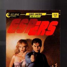 Cómics: ESPERS 2 - ECLIPSE 1986 FN/VFN . Lote 159520114