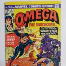 Cómics: OMEGA THE UNKNOWN VOL. 1 N 1 MARVEL USA (1976). Lote 160432458