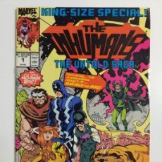 Cómics: THE INHUMANS 1 KING SIZE ESPECIAL. Lote 160432962