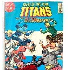Cómics: TALES OF THE TEEN TITANS Nº 48 ~ MARV WOLFMAN & STEVE RUDE (DC 1984). Lote 160588254