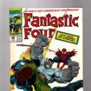 Cómics: FANTASTIC FOUR 348 - MARVEL 1991 FN/VFN / NEW FF WOLVERINE / HULK / SPIDER-MAN / GHOST RIDER . Lote 160672574
