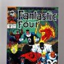Cómics: FANTASTIC FOUR 349 - MARVEL 1991 VFN/NM / NEW FF WOLVERINE / HULK / SPIDER-MAN / GHOST RIDER . Lote 160672666