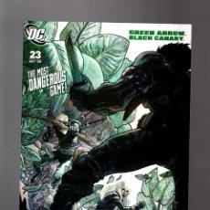 Cómics: GREEN ARROW BLACK CANARY 23 - DC 2009 VFN . Lote 161443614