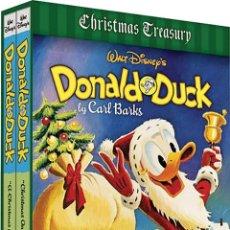 Cómics: WALT DISNEY'S DONALD DUCK CHRISTMAS GIFT BOX THE COMPLETE CARL BARKS DISNEY LIBRARY FANTAGRAPHICS. Lote 161486282