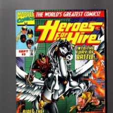 Cómics: HEROES FOR HIRE 3 - MARVEL 1997 - VFN/NM LUKE CAGE / IRON FIST / BLACK KNIGHT . Lote 161760658