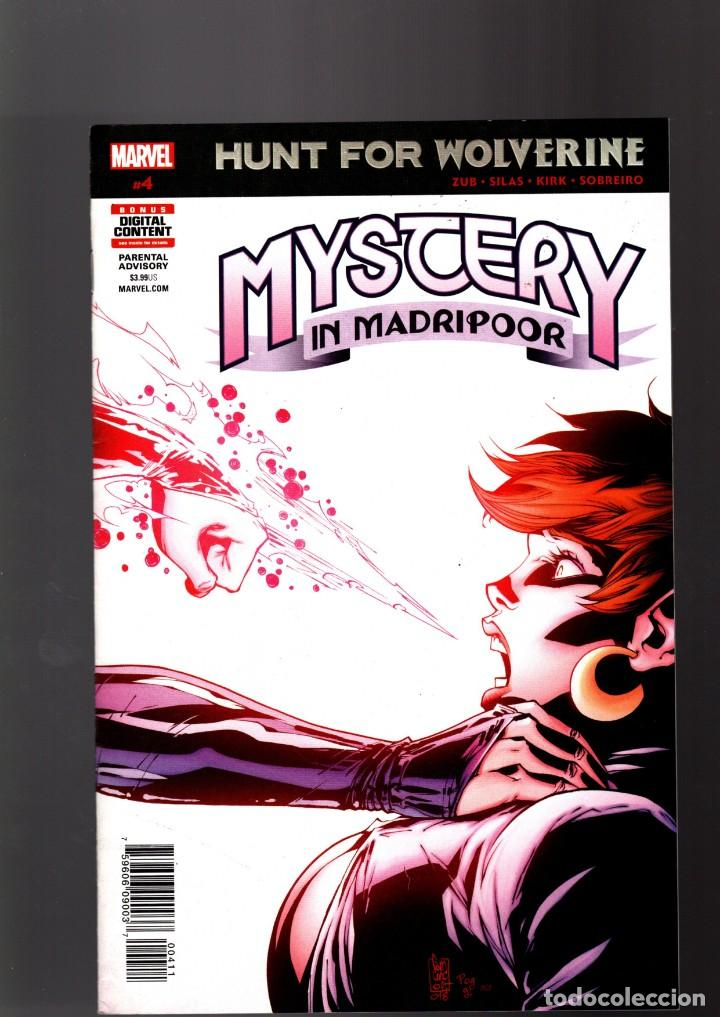 HUNT FOR WOLVERINE MYSTERY IN MADRIPOOR 4 - MARVEL 2018 VFN (Tebeos y Comics - Comics Lengua Extranjera - Comics USA)