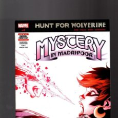 Cómics: HUNT FOR WOLVERINE MYSTERY IN MADRIPOOR 4 - MARVEL 2018 VFN. Lote 162010718
