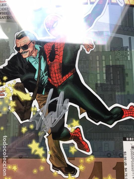Cómics: Stan Lee meets Spider-Man CGC 8.0 SS Stan Lee!! - Foto 5 - 162275473