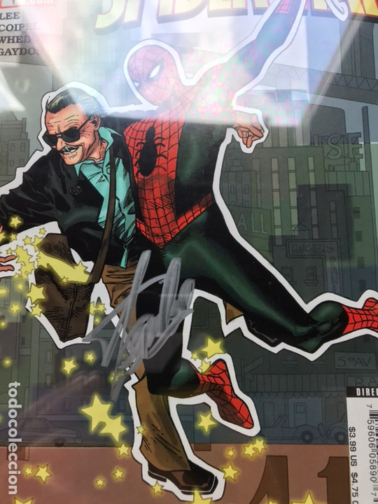 Cómics: Stan Lee meets Spider-Man CGC 8.0 SS Stan Lee!! - Foto 6 - 162275473