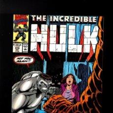 Cómics: INCREDIBLE HULK 374 - MARVEL 1990 VFN- / PETER DAVID. Lote 194238317