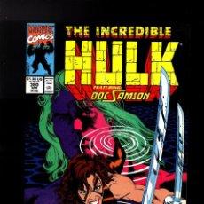 Cómics: INCREDIBLE HULK 380 - MARVEL 1991 VFN- / DOC SAMSON. Lote 194239130