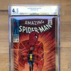 Cómics - Amazing Spider-man #50 CGC 4.5 SS Stan Lee! - 162370476