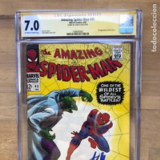 Cómics - Amazing Spider-man #45 CGC SS 7.0 Stan Lee Signature! - 162370840