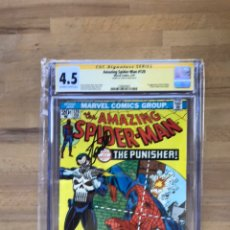 Cómics - Amazing Spider-Man #129 CGC 4.5 SS Signed by Stan Lee - 162371698
