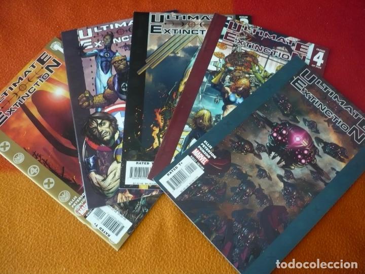 ULTIMATE EXTINCTION 1 AL 5 ( WARREN ELLIS ) ¡COMPLETA! ( EN INGLES ) ¡MUY BUEN ESTADO! MARVEL (Tebeos y Comics - Comics Lengua Extranjera - Comics USA)