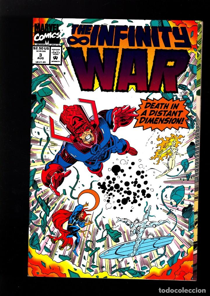 INFINITY WAR 3 # MARVEL 1992 VFN/NM / JIM STARLIN & RON LIM (Tebeos y Comics - Comics Lengua Extranjera - Comics USA)