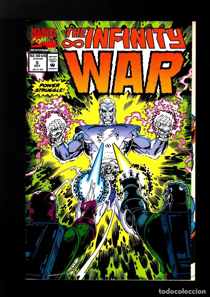 INFINITY WAR 5 # MARVEL 1992 VFN/NM / JIM STARLIN & RON LIM (Tebeos y Comics - Comics Lengua Extranjera - Comics USA)