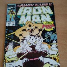 Cómics: IRON MAN # 263 ARMOR WARS II JOHN ROMITA JR.. Lote 163504077