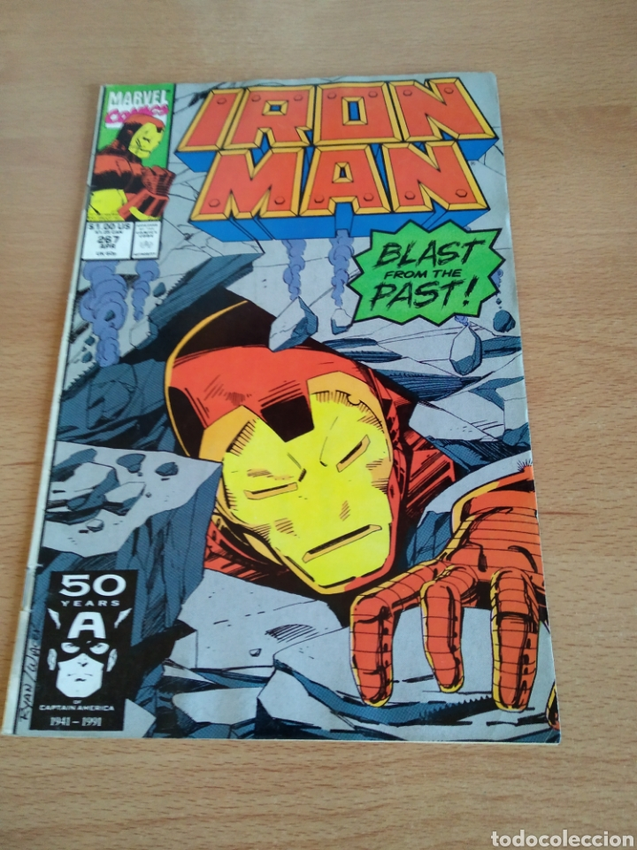 IRON MAN # 267 MARVEL USA 1991 (Tebeos y Comics - Comics Lengua Extranjera - Comics USA)