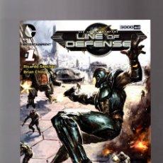 Cómics: LINE OF DEFENSE 1 - DC 2012 VFN/NM . Lote 163558794