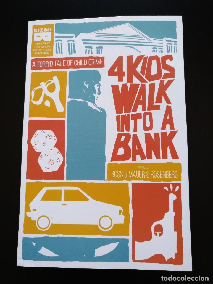 4 KIDS WALK INTO A BANK TPB (Tebeos y Comics - Comics Lengua Extranjera - Comics USA)