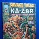 Cómics: SAVAGE TALES FEATURING KA-ZAR # 8 - MARVEL MAGAZINE, 1975. Lote 164208002