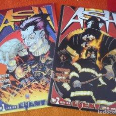 Cómics: ASH FIRE AND CROSSFIRE 1 Y 2 ( JAMES ROBINSON QUESADA ) ( EN INGLES ) ¡MUY BUEN ESTADO! USA EVENT . Lote 164414510