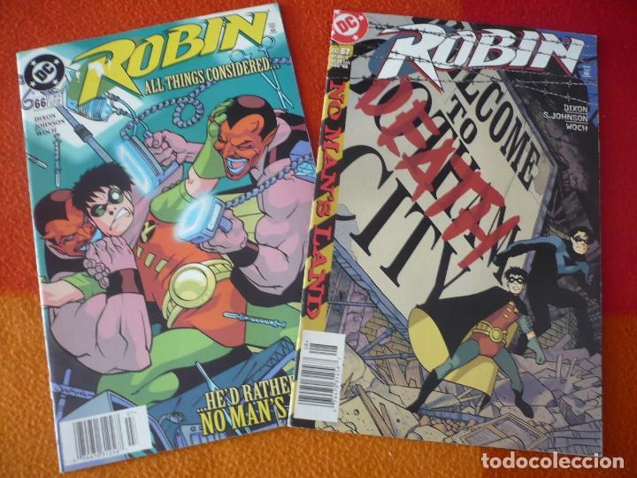 ROBIN NºS 66 Y 67 ( DIXON) ( EN INGLES ) ¡MUY BUEN ESTADO! USA DC BATMAN (Tebeos y Comics - Comics Lengua Extranjera - Comics USA)