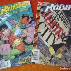 Cómics: ROBIN NºS 66 Y 67 ( DIXON) ( EN INGLES ) ¡MUY BUEN ESTADO! USA DC BATMAN. Lote 164655302