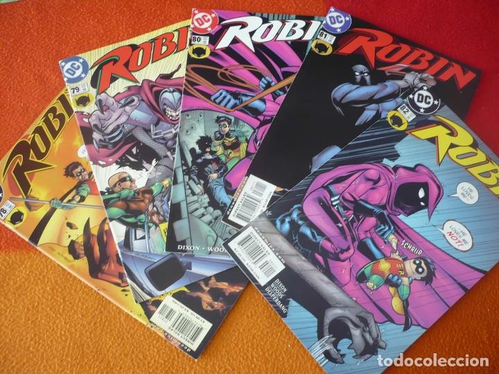 ROBIN NºS 78, 79, 80, 81 Y 82 ( DIXON WOODS ) ( EN INGLES ) ¡MUY BUEN ESTADO! USA DC BATMAN (Tebeos y Comics - Comics Lengua Extranjera - Comics USA)