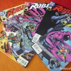 Cómics: ROBIN NºS 78, 79, 80, 81 Y 82 ( DIXON WOODS ) ( EN INGLES ) ¡MUY BUEN ESTADO! USA DC BATMAN. Lote 164655446