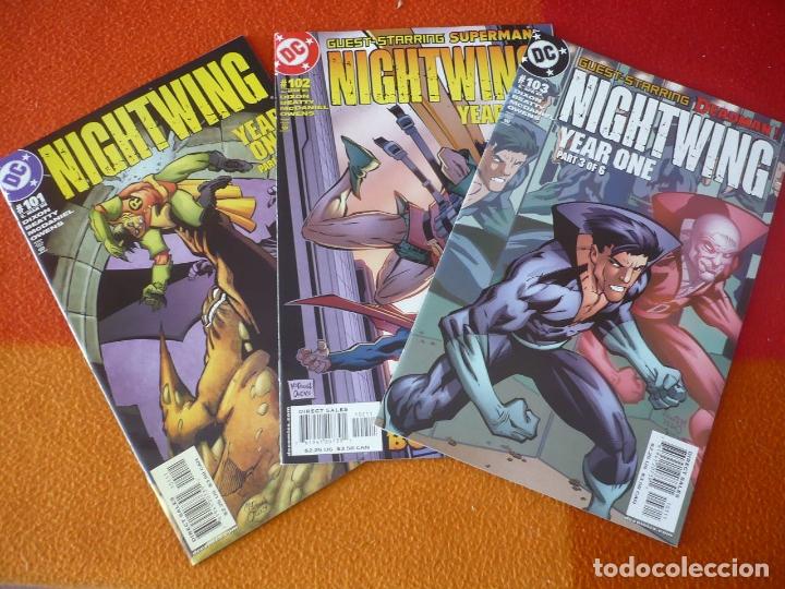 NIGHTWING NºS 101, 102 Y 103 ( DIXON BEATTY ) ( EN INGLES ) ¡MUY BUEN ESTADO! USA DC BATMAN (Tebeos y Comics - Comics Lengua Extranjera - Comics USA)